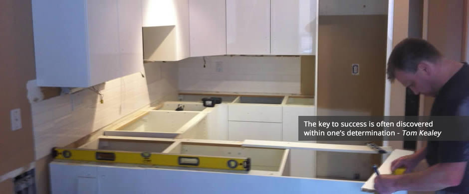 IKEA kitchen planning and measuring